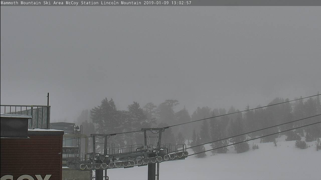Mammoth Mountain Ski Area Webcam - Mammoth Lakes, CA