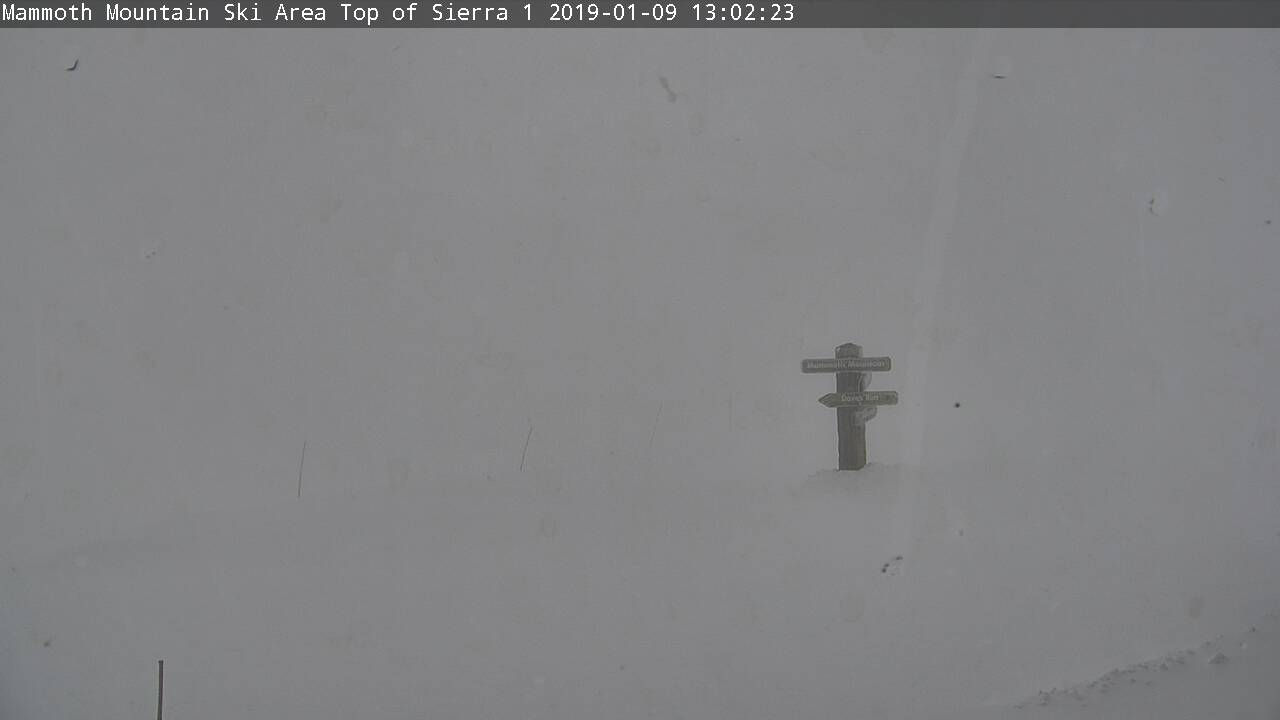 Mammoth Mountain Summit Cam