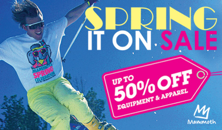 Spring It On Sale