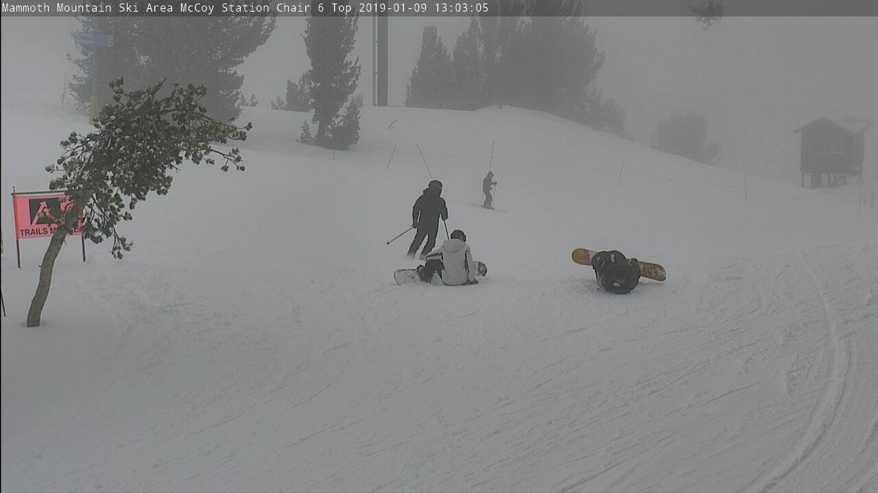 Mammoth Mountain MC Coy Station Cam